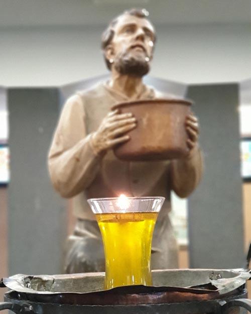 L'Olio Benedetto della Madonna